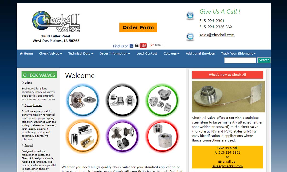 More Check Valve Manufacturer Listings