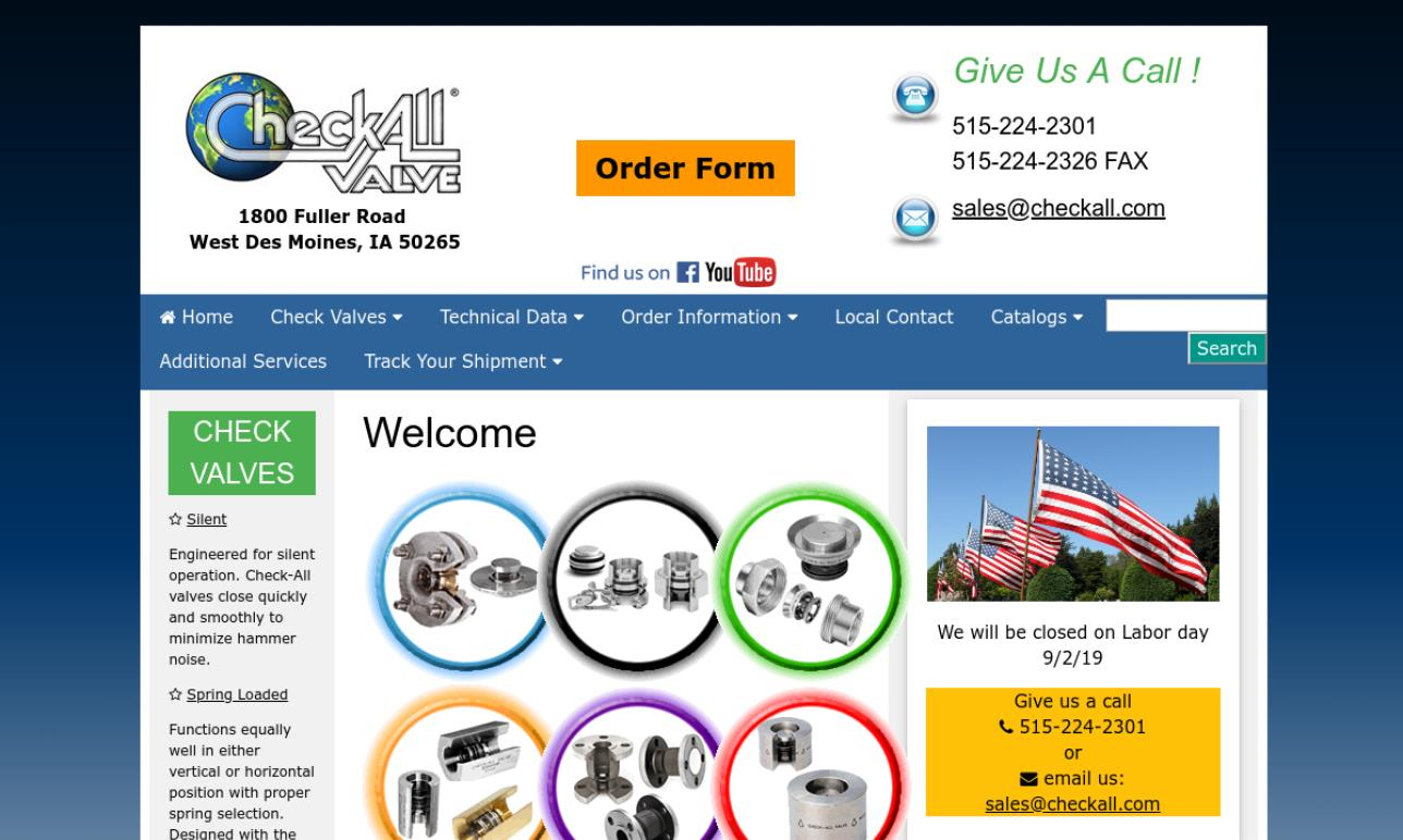 Check-All Valve Manufacturing Company