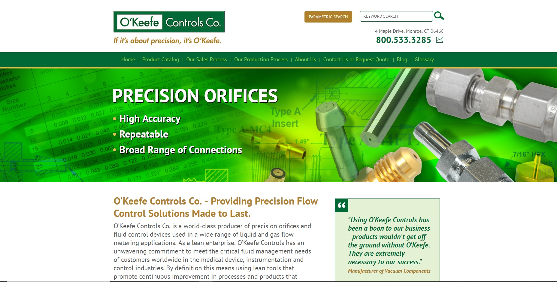 O'Keefe Controls Co.