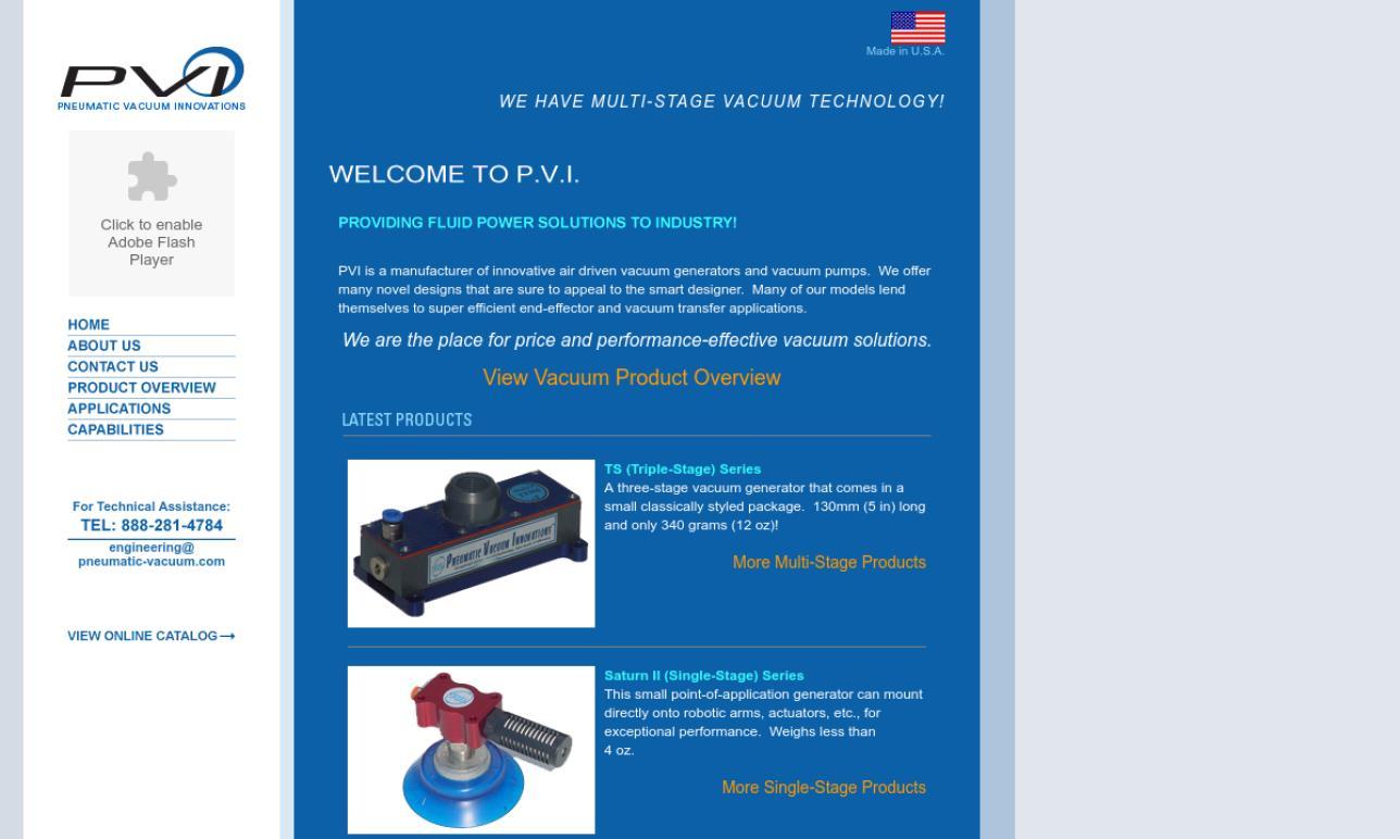 Pneumatic Vacuum Innovations