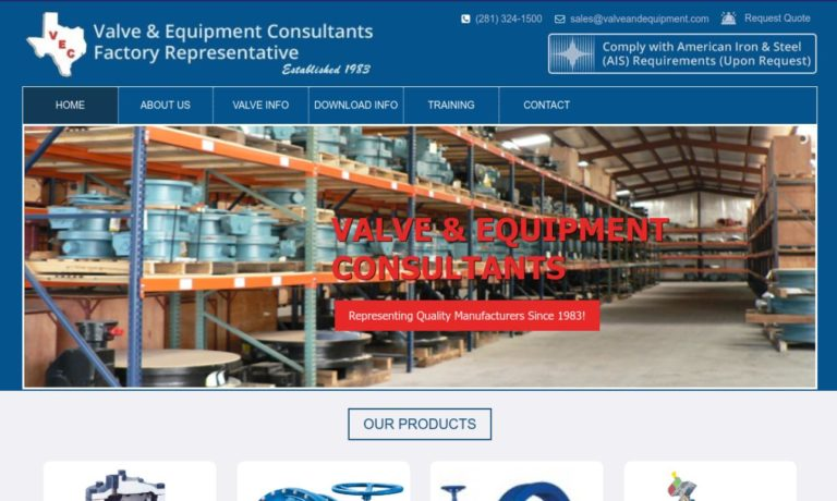 Valve & Equipment Consultants, Inc.